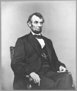 Abraham Lincoln. Courtesy of Library of Congress, LC-DIG-ppmsca-19305.