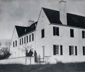 Lindbergh residence in Hopewell, 1935. Courtesy of NJ State Archives.