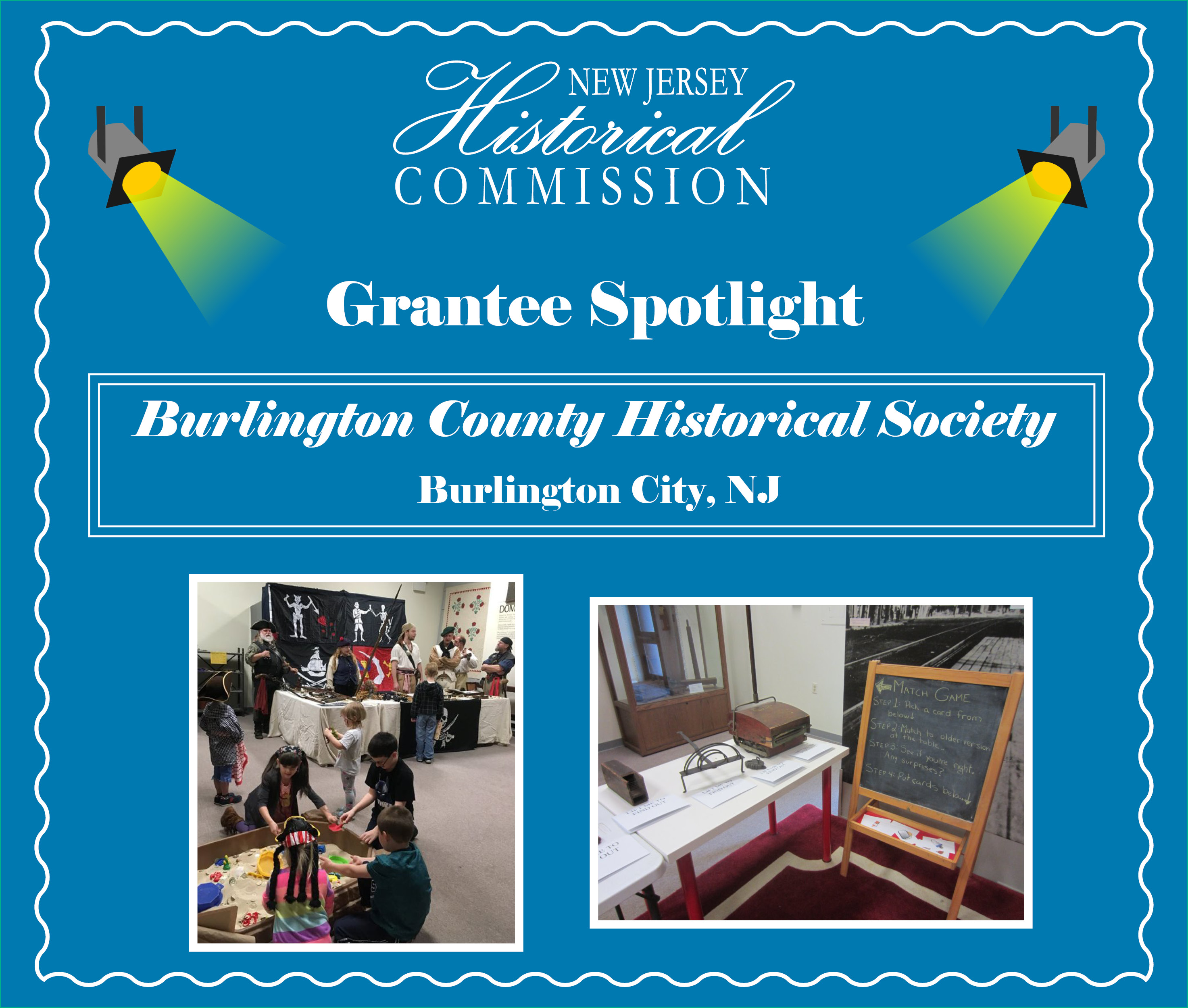 New Jersey Historical Commission Grantee Spotlight: Burlington County Historical Society