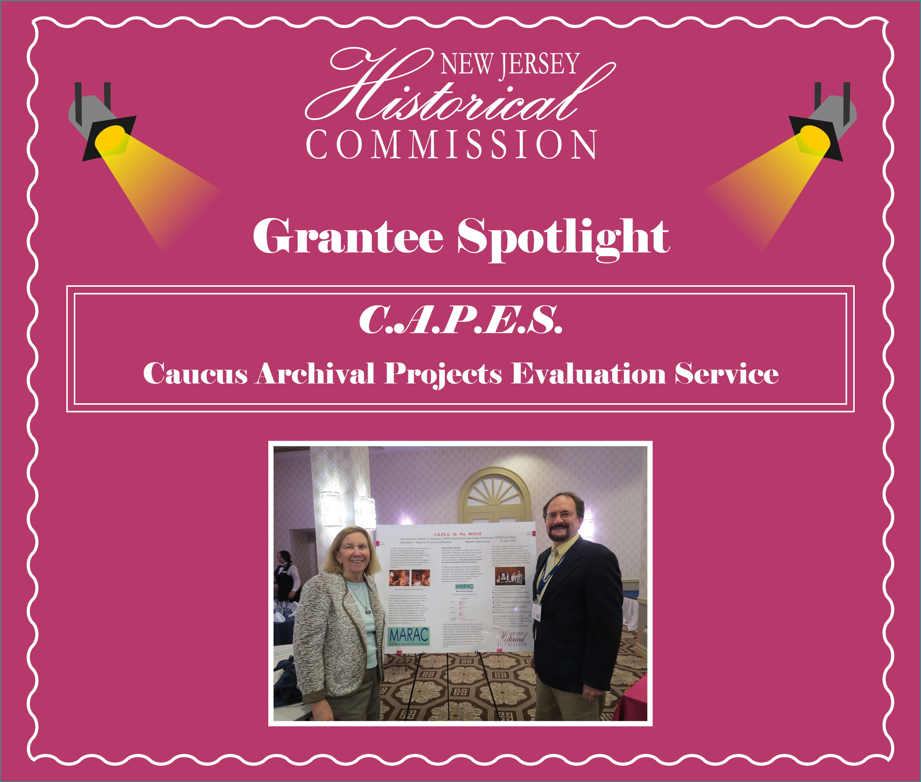New Jersey Historical Commission Grantee Spotlight: CAPES