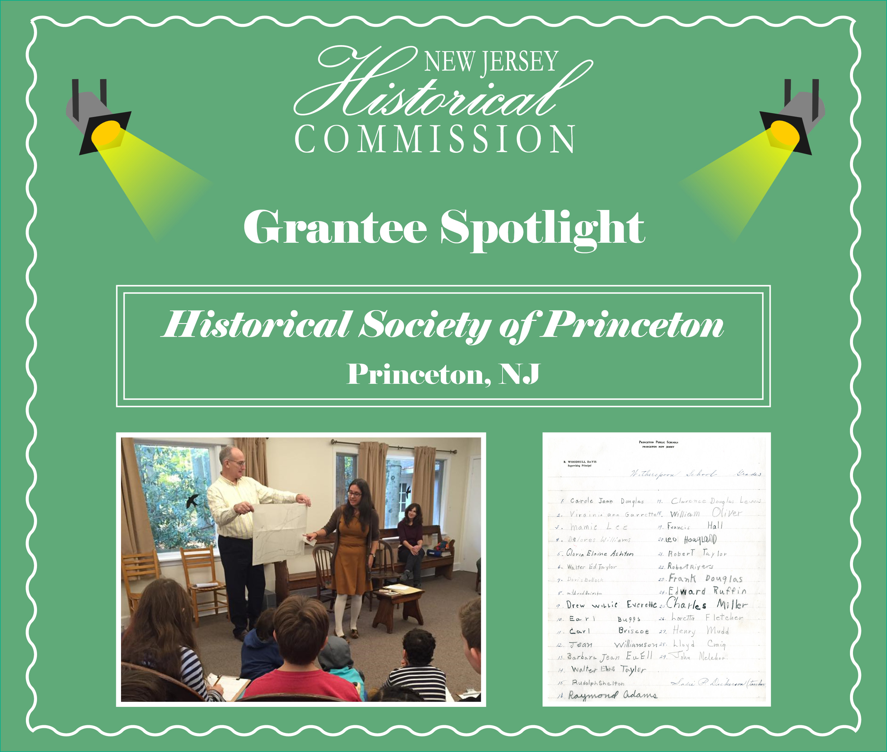 New Jersey Historical Commission Grantee Spotlight: Historical Society of Princeton