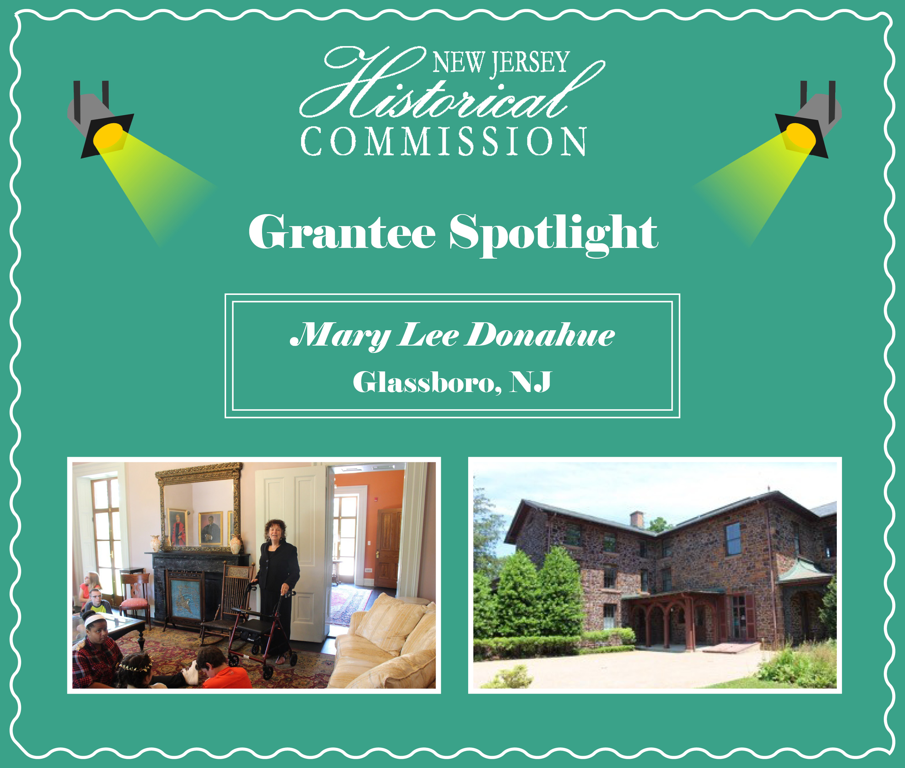 New Jersey Historical Commission (NJHC) Grantee Spotlight: Mary Lee Donahue