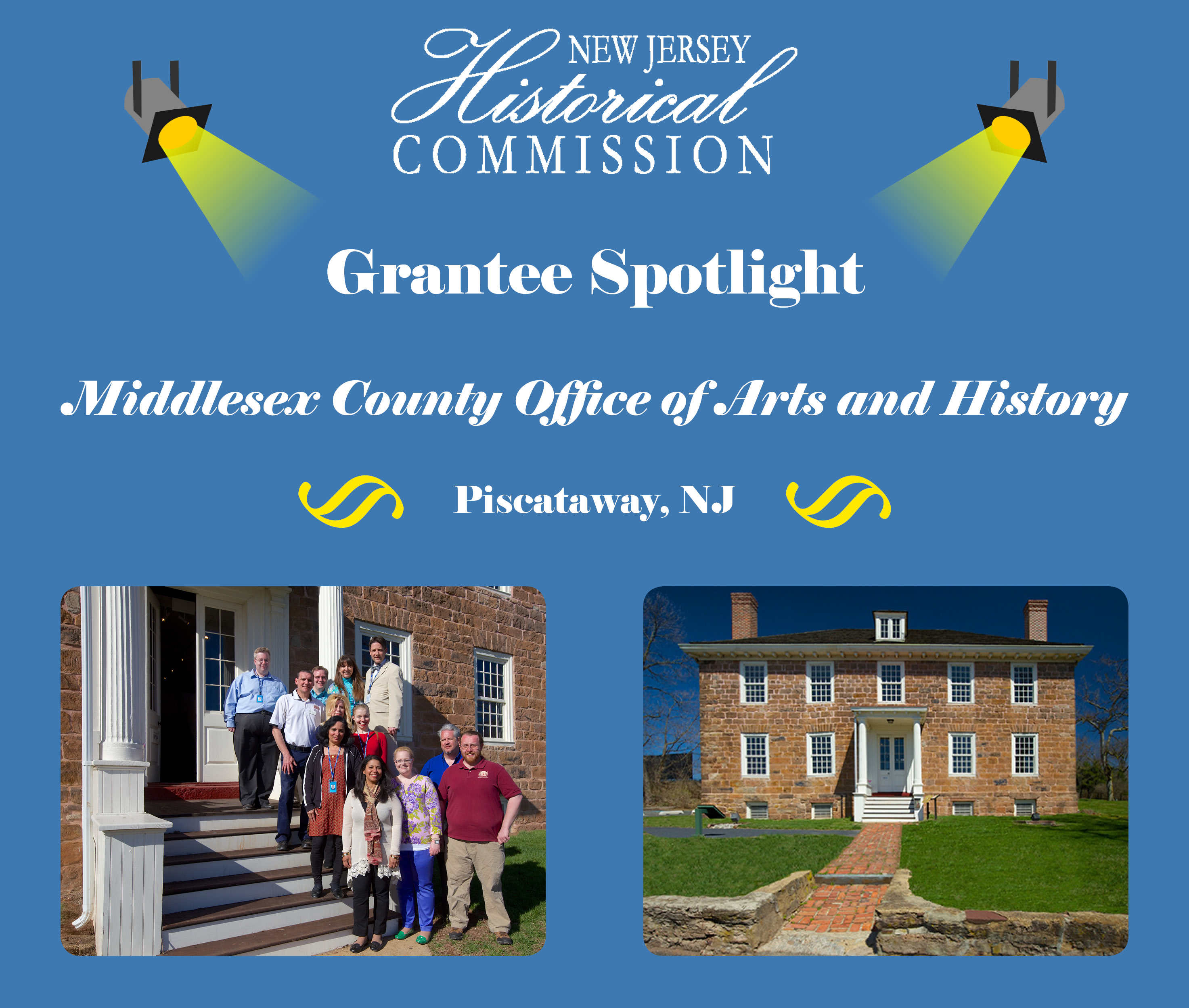 New Jersey Historical Commission (NJHC) Grantee Spotlight: Middlesex County Office of Arts and History