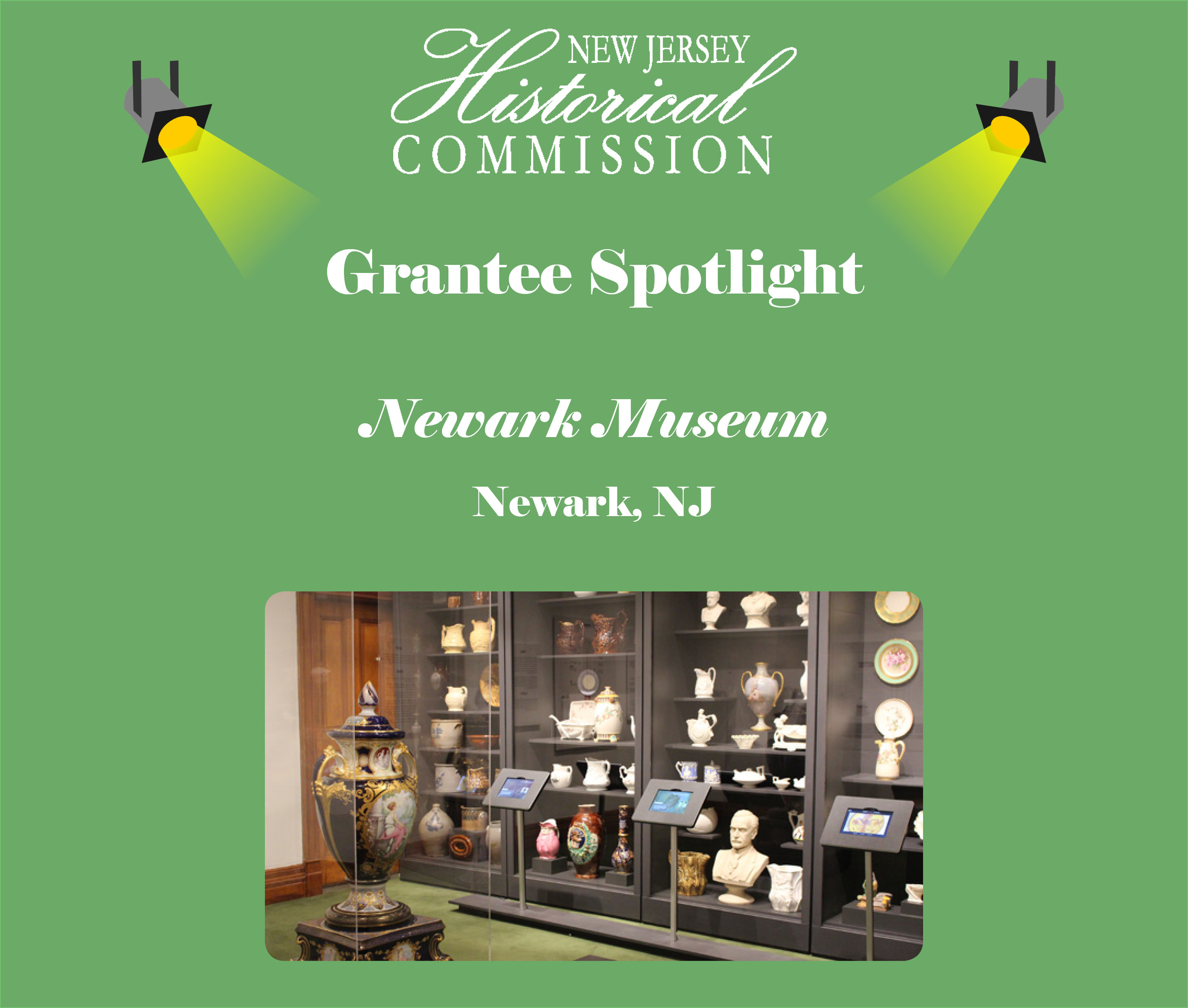 New Jersey Historical Commission (NJHC) Grantee Spotlight: The Newark Museum