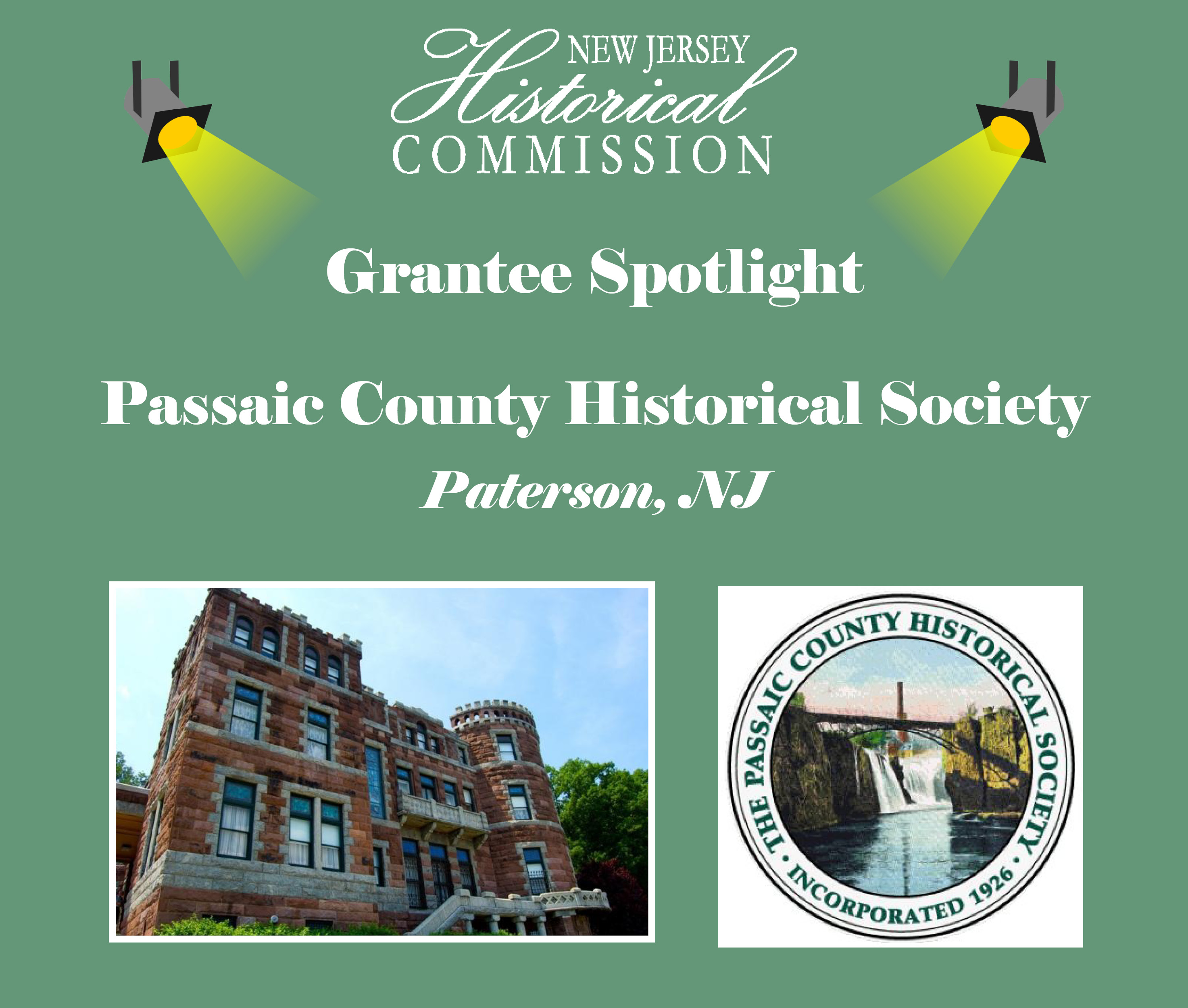 New Jersey Historical Commission (NJHC) Grantee Spotlight: Passaic County Historical Society