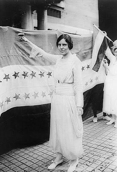 NJ Suffragists – Alice Paul (1885-1977)