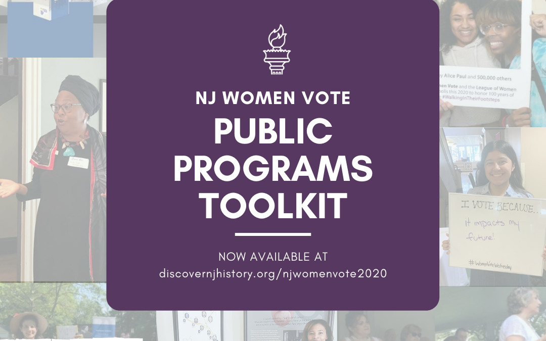 NJ Women Vote Public Programs Toolkit