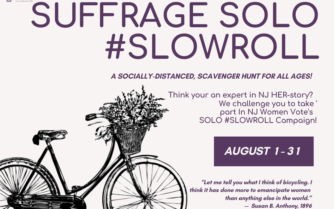 "Suffrage ""Solo"" Slow Roll"